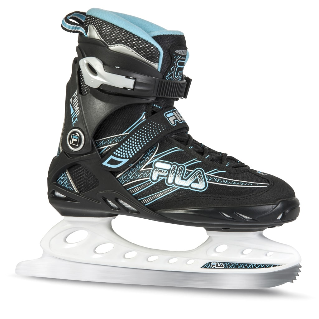 Fila Primo Ice Damen-Schlittschuhe Black/Lightblue