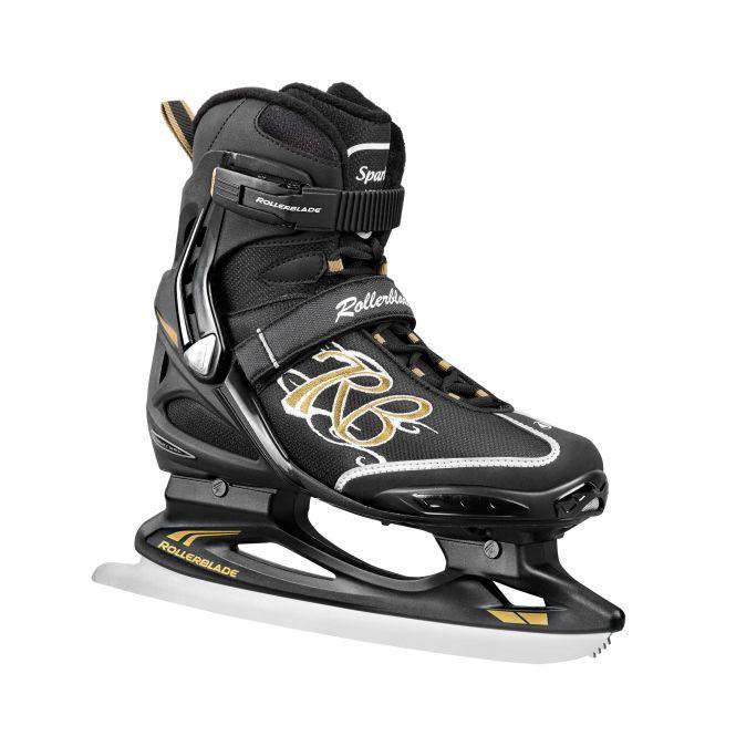 Rollerblade Spark Ice W – Damen-Schlittschuh schwarz/gold