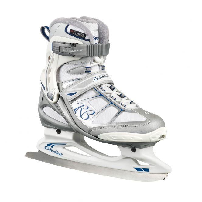 Rollerblade Spark XT Ice W – Damen-Schlittschuh silber/weiß