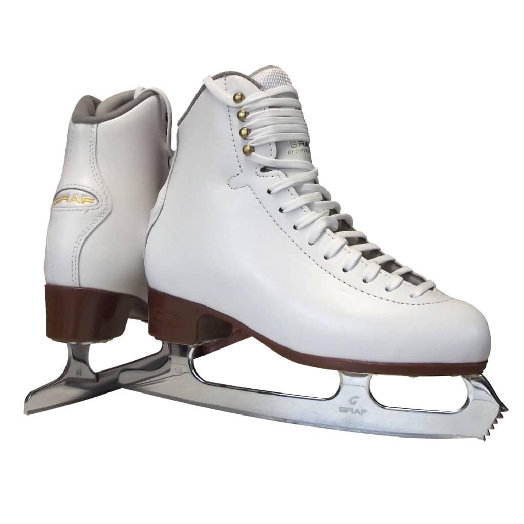 Graf Arosa Gold Eiskunstlauf-Schlittschuhe für Damen und Mädchen