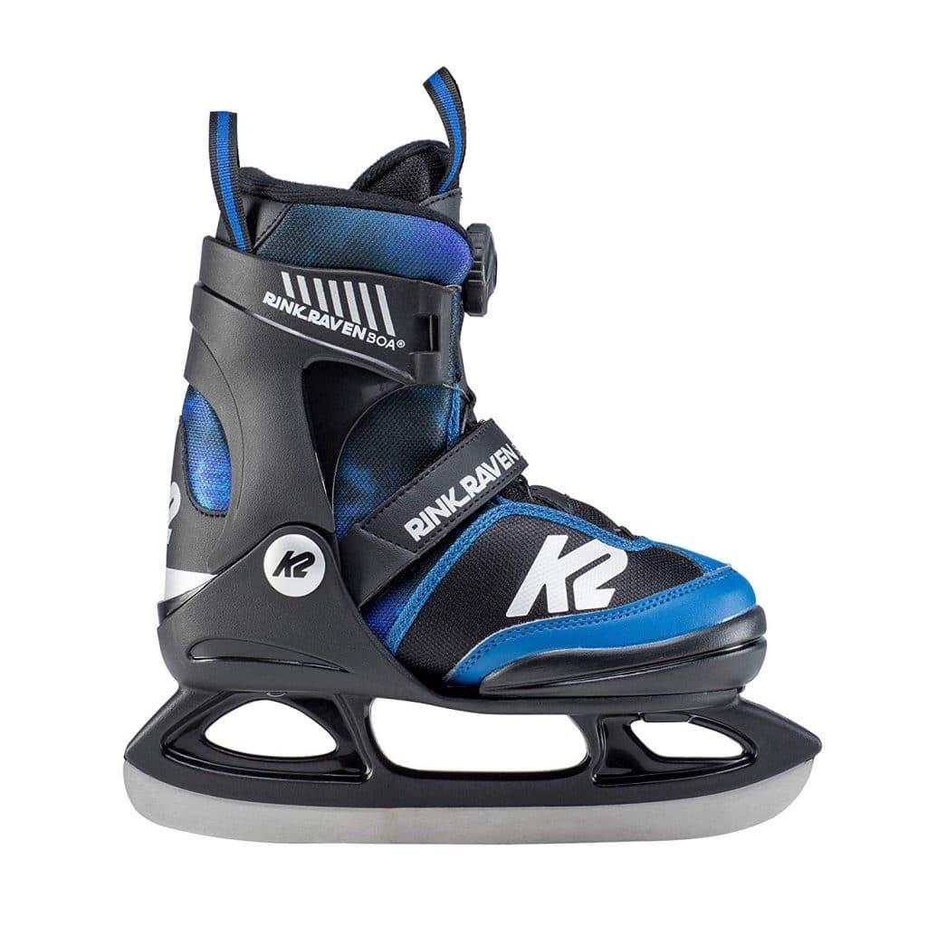 K2 Rink Raven Ice Boa Skates für Jungs, Modell 2019/2020
